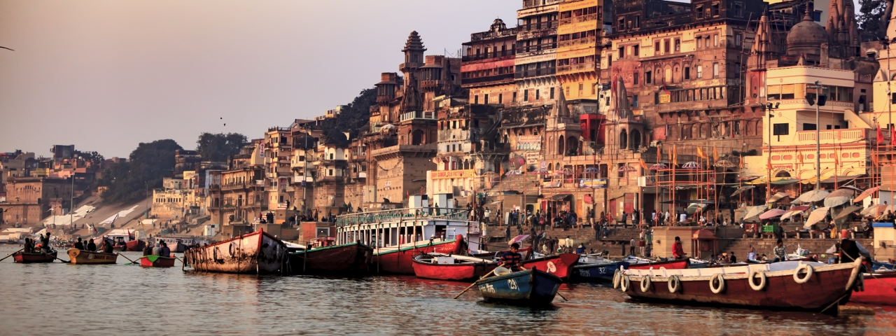 Private jet charter and flights to Varanasi