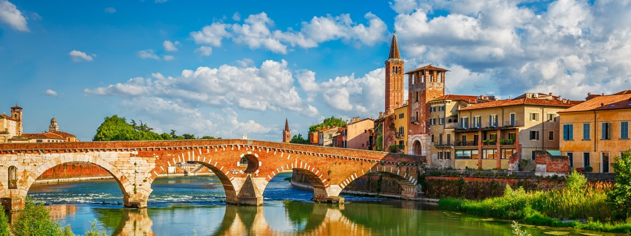 Private jet charter to Italy