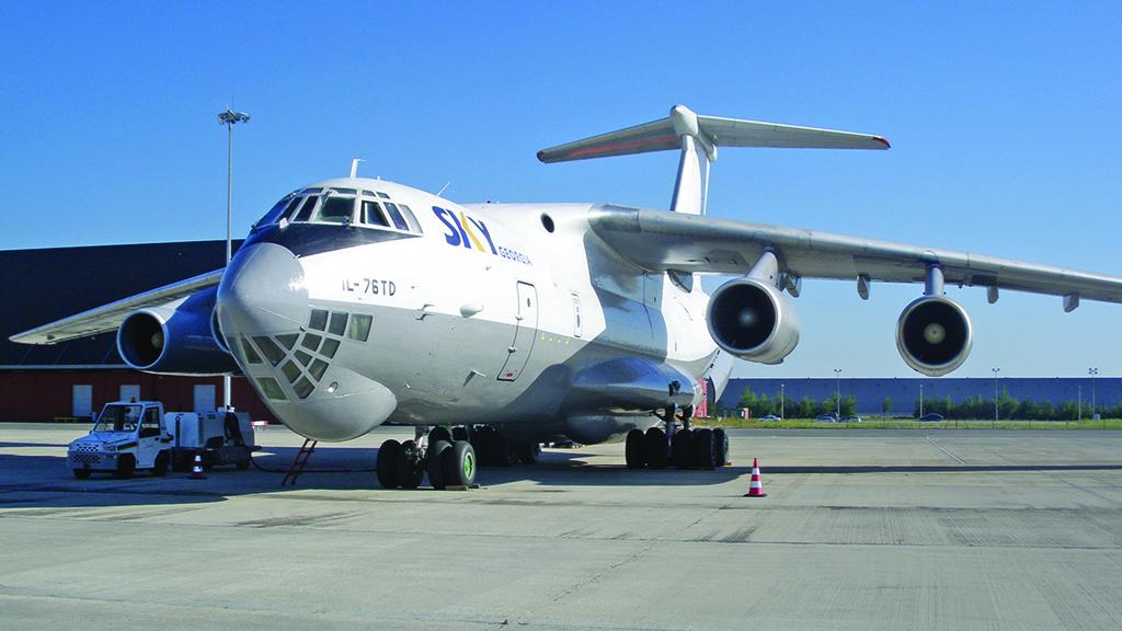 ILYUSHIN IL-76T AND IL76-TD
